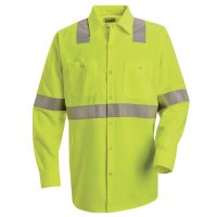 Hi-Visibility Work Shirt - Class 2 Level 2 - SS14HV