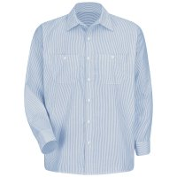 Classic Striped Auto Work Shirt SL10WB