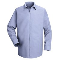Pocketless Long Sleeved Work Shirt - SP16
