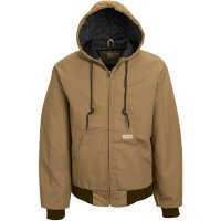 Blended Duck Zip-Front Hooded Jacket - JD20