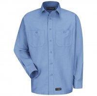 Wrangler Long Sleeve Work Shirt - WS10