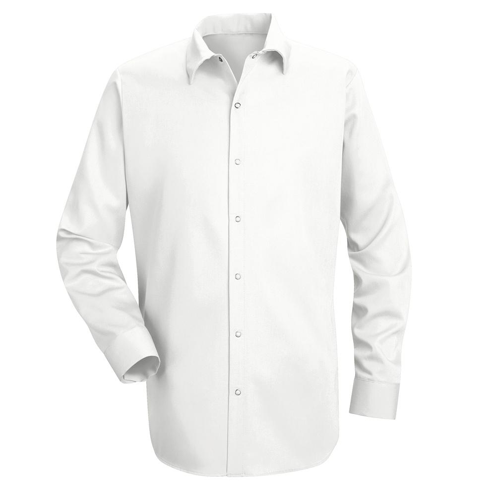 White work shirts custom shirt for Red kap 100 cotton work shirt
