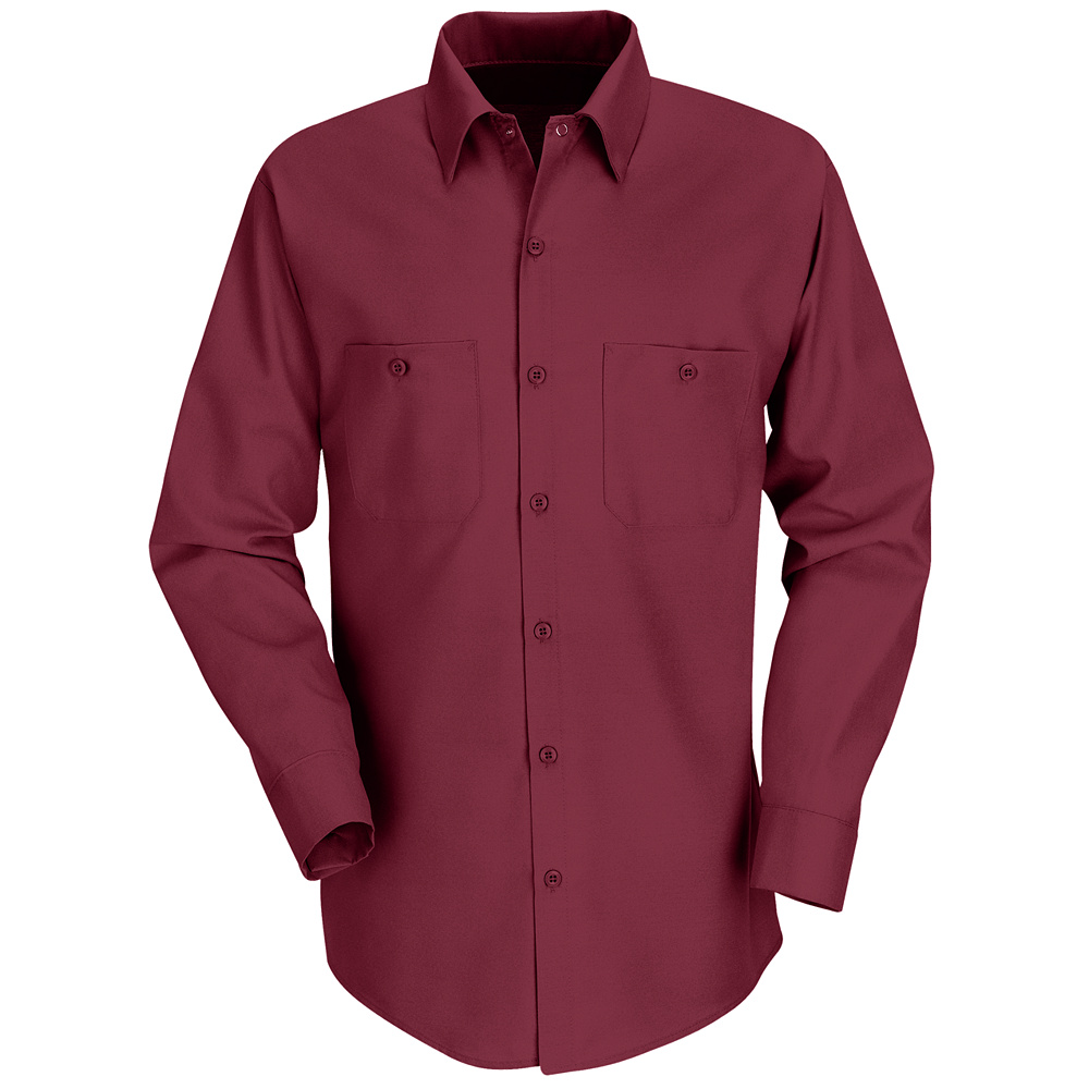 Red Kap Best Selling Solid Color Long Sleeve Work Shirt