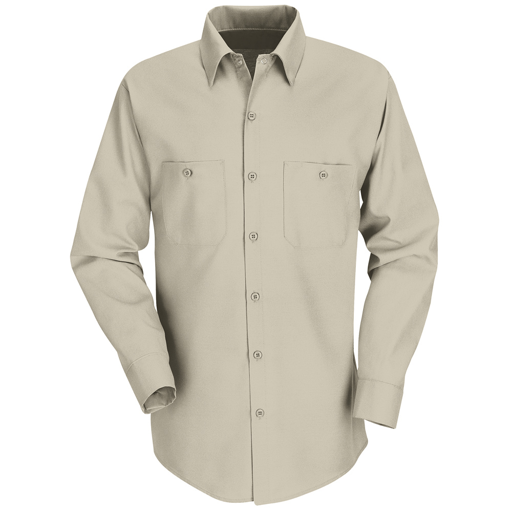 0d32217c Red Kap Best Selling Solid Color Long Sleeve Work Shirt SP14 Red Kap ...