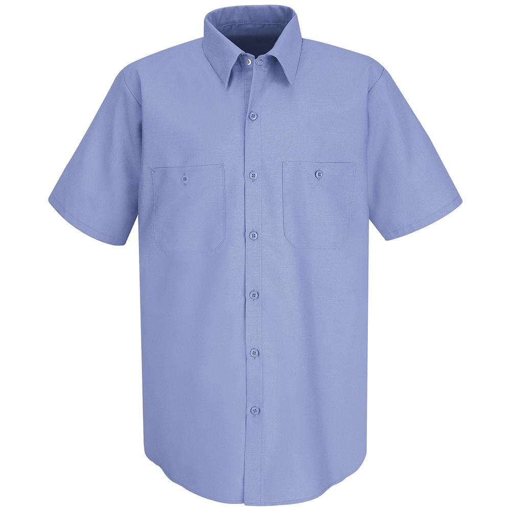 Red Kap Men's Short Sleeve Uniform Work Shirt -SP24