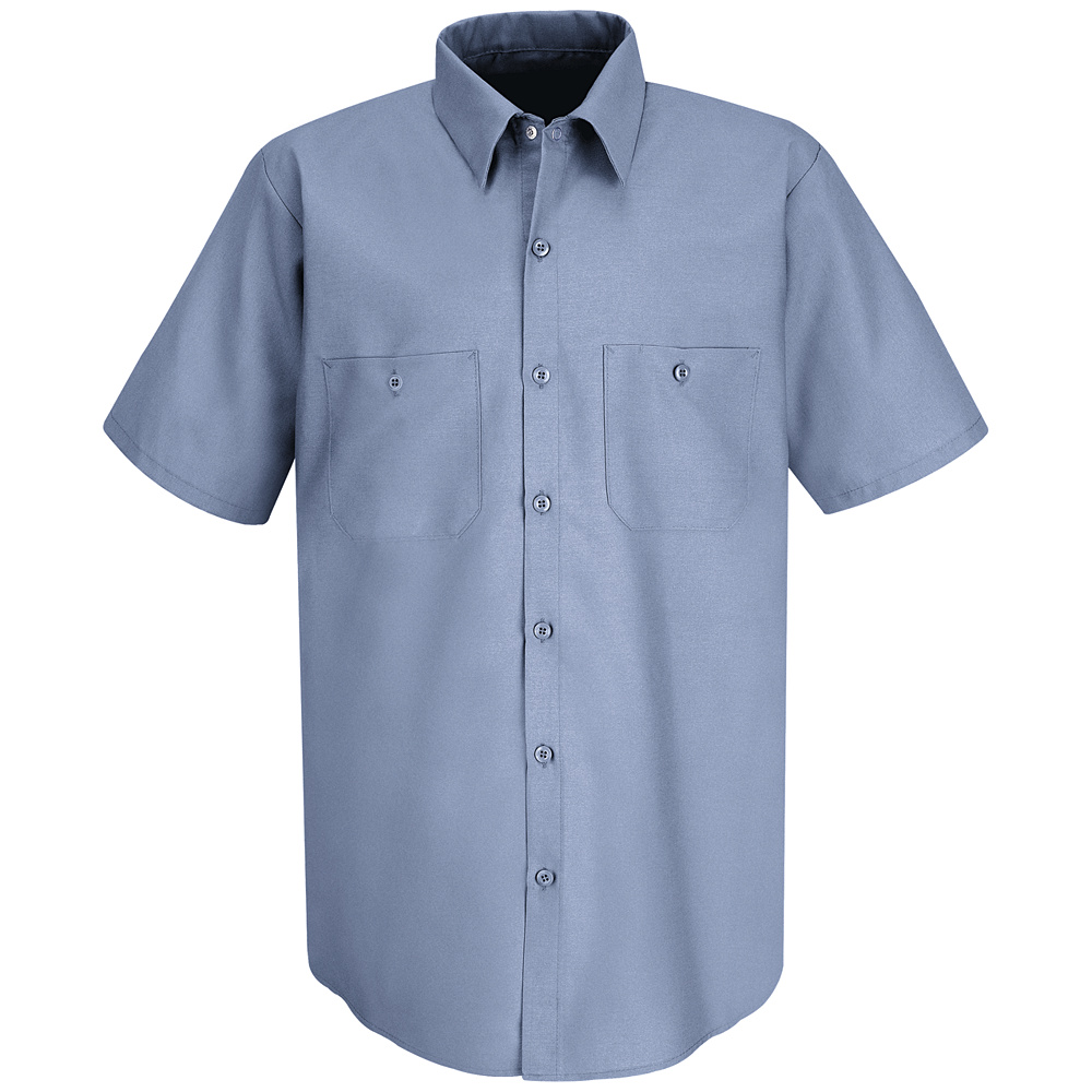 Classic Solid Auto Work Shirt Sp24 Sp24 Red