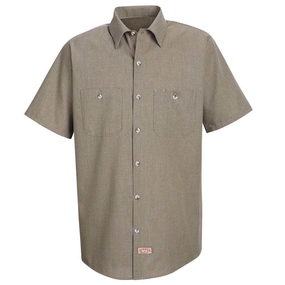 red kap microcheck work shirt sp24 red kap microcheck