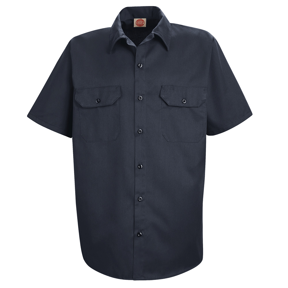discount red kap utility uniform shirt st62