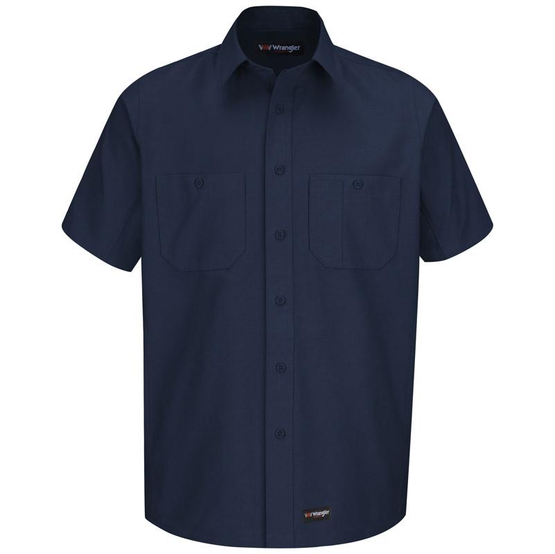 Wrangler Short Sleeve Work Shirt Ws20 Ws20