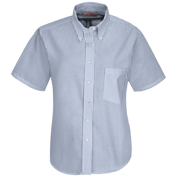 Discount red kap executive oxford dress shirt sr61 for Oxford vs dress shirt