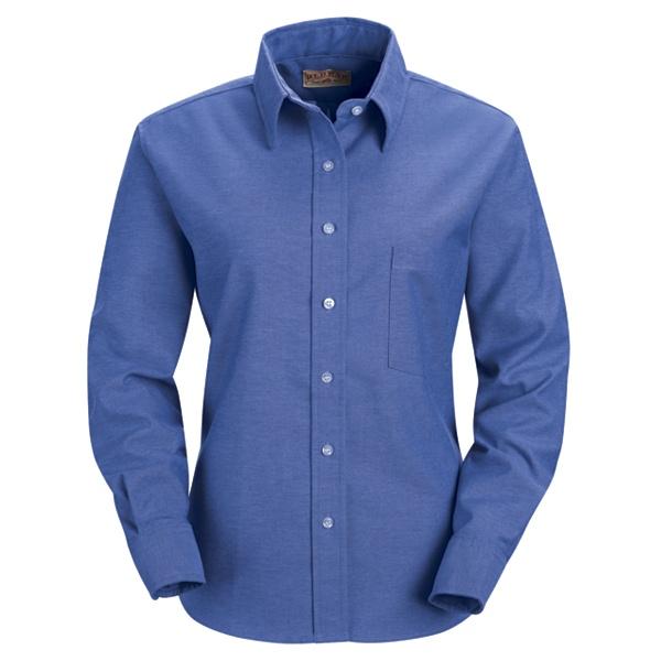Discount Red Kap Women 39 S Oxford Dress Shirt Sr75