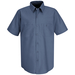 Red Kap BEST SELLING  Solid Short Sleeved Work Shirt - SP24