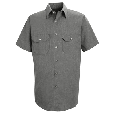 Heathered Poplin Uniform Shirt - SH20