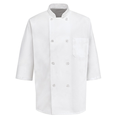 1/2 Sleeve Chef Coat - 0404