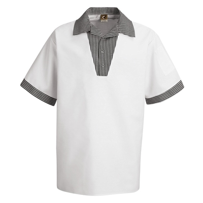 Snappy V-Neck Chef Shirt - SP06