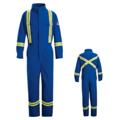 Deluxe Coverall with Reflective Trim - Nomex® IIIA - CNBT