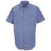 Red Kap Microcheck Work Shirt - SP24