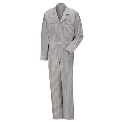 Button-front Cotton Coverall - CC16